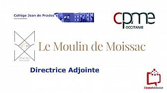 @CPMEoccitanie - des Jeunes du collège Jean de Prades de Castelsarrasin découvrent le métier de Directrice Adjointe  à  L'Hôtel & Spa Moulin de Moissac 82